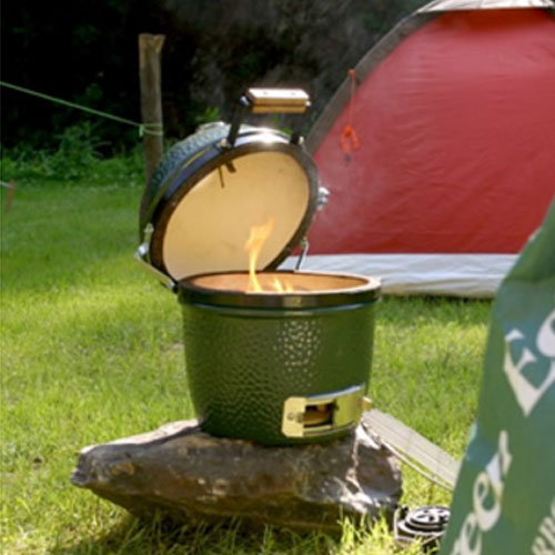 big green egg mini grill n propane. Black Bedroom Furniture Sets. Home Design Ideas