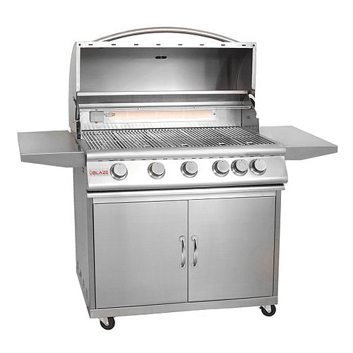 Blaze 40 on cart grill n propane - Grille barbecue 70 x 40 ...