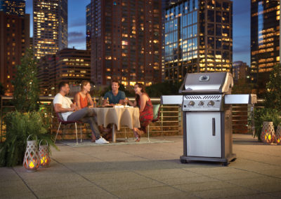 Lifestyle City Roof Top Patio