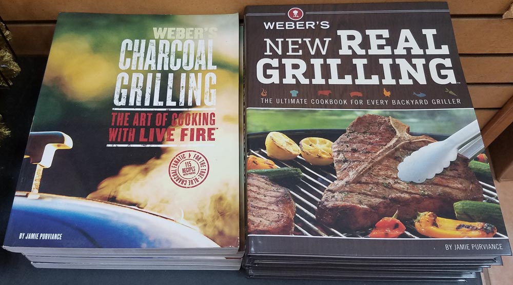 Full line of Weber and Big Green Egg Accessories, Grills and everything for great BBQ's